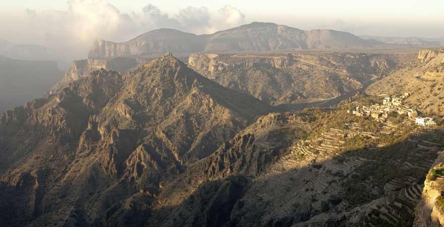 Sayq Plateau auf dem Jebel Akhdar