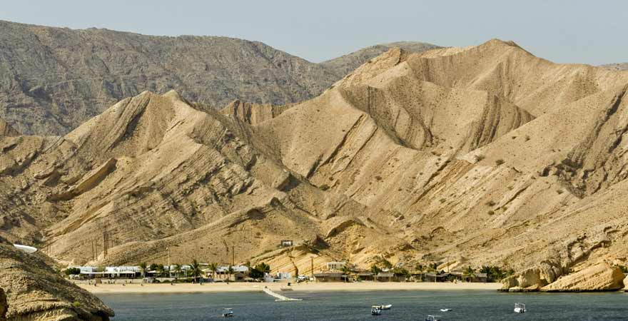 Qantab Beach im Oman