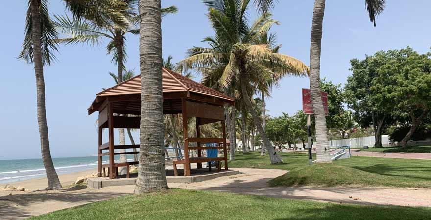 Qurum Beach in Maskat