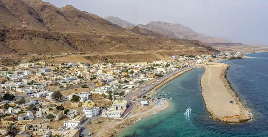 Tiwi Beach im Oman