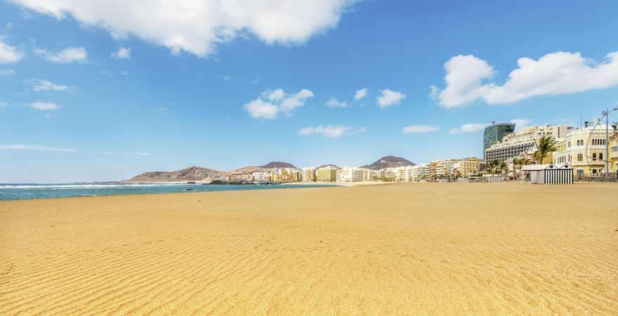 Playa de las Canteras auf Gran Canaria