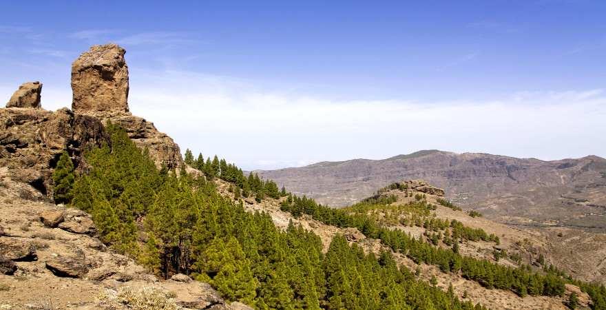 Roque Nublo das Wahrzeichen Gran Canarias