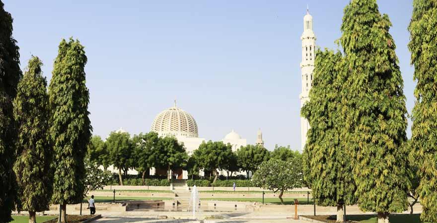 Sultan Qabus Moschee in Maskat