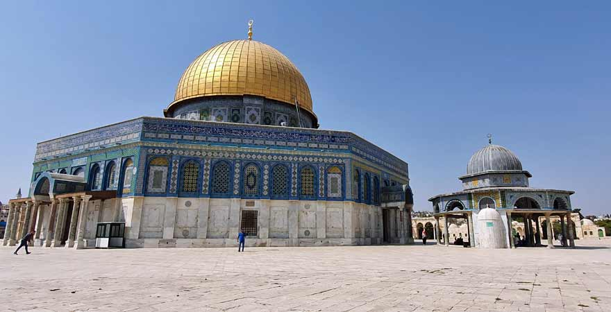 Al Aqsa Moschee in Jerusalem