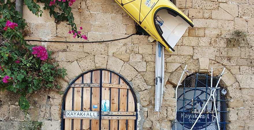 Haus in der Altstadt von Tel Aviv