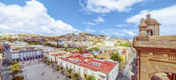 Blick über die Altstadt von Las Palmas Gran Canaria
