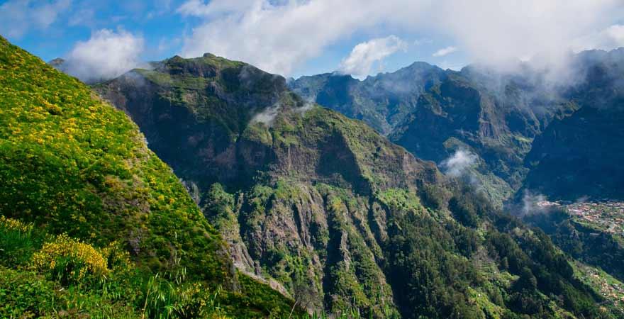Boca da Corrida Wanderweg auf Madeira