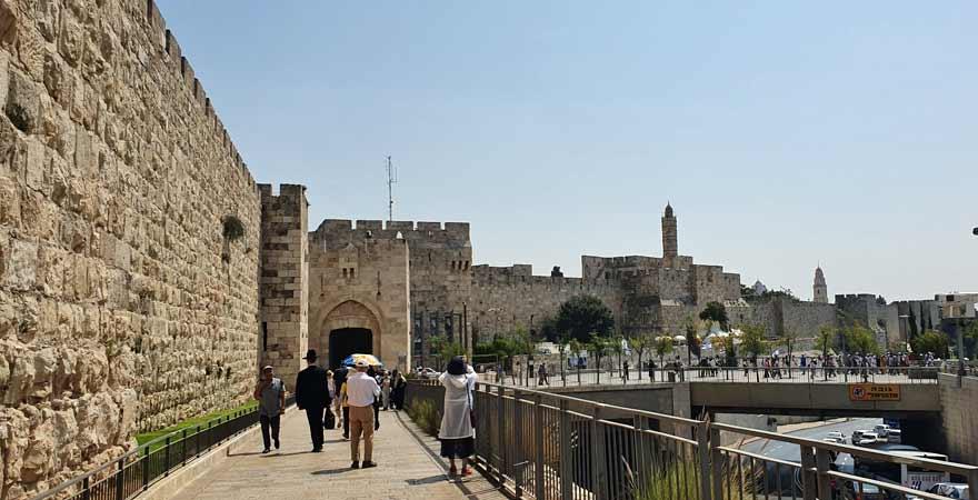 Eingangstor Altstadt Jerusalem