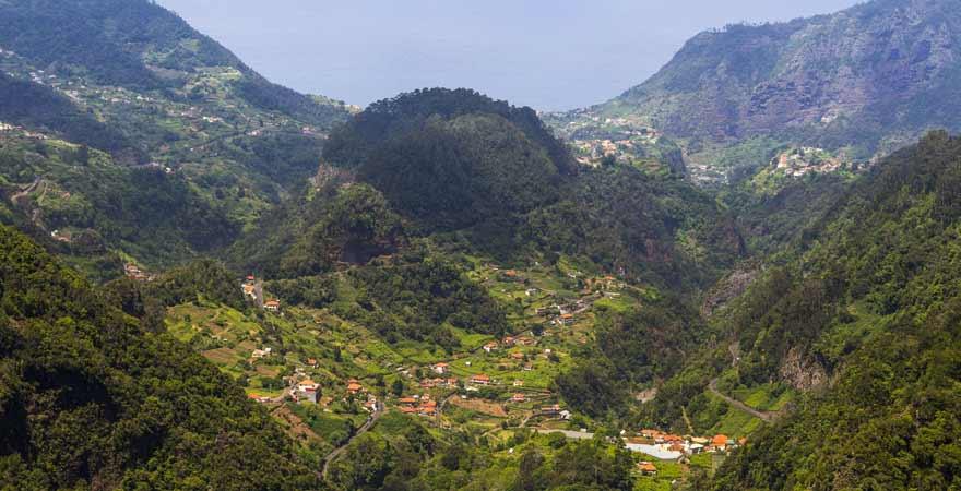 Miradouro dos Balcoes auf Madeira