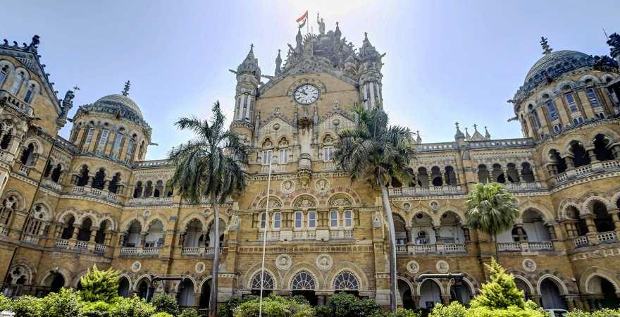 Der historische Bahnhof in Mumbai ist der größte der Welt
