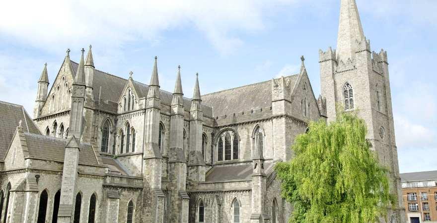 Die Sanct-Patricks-Kathedrale in Dublin