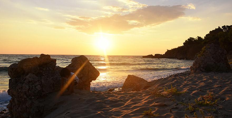 Vrachos Beach, Epirus