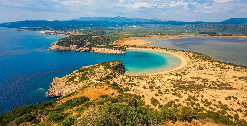 Voidokilia Beach, Peleponnes