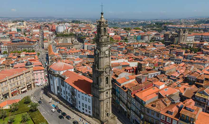 Clérigos, Turm, Kirche, Porto