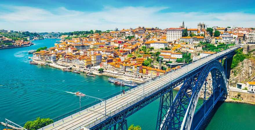 Brücke Dom Luís I Porto