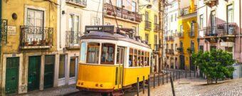 Tram Lissabon